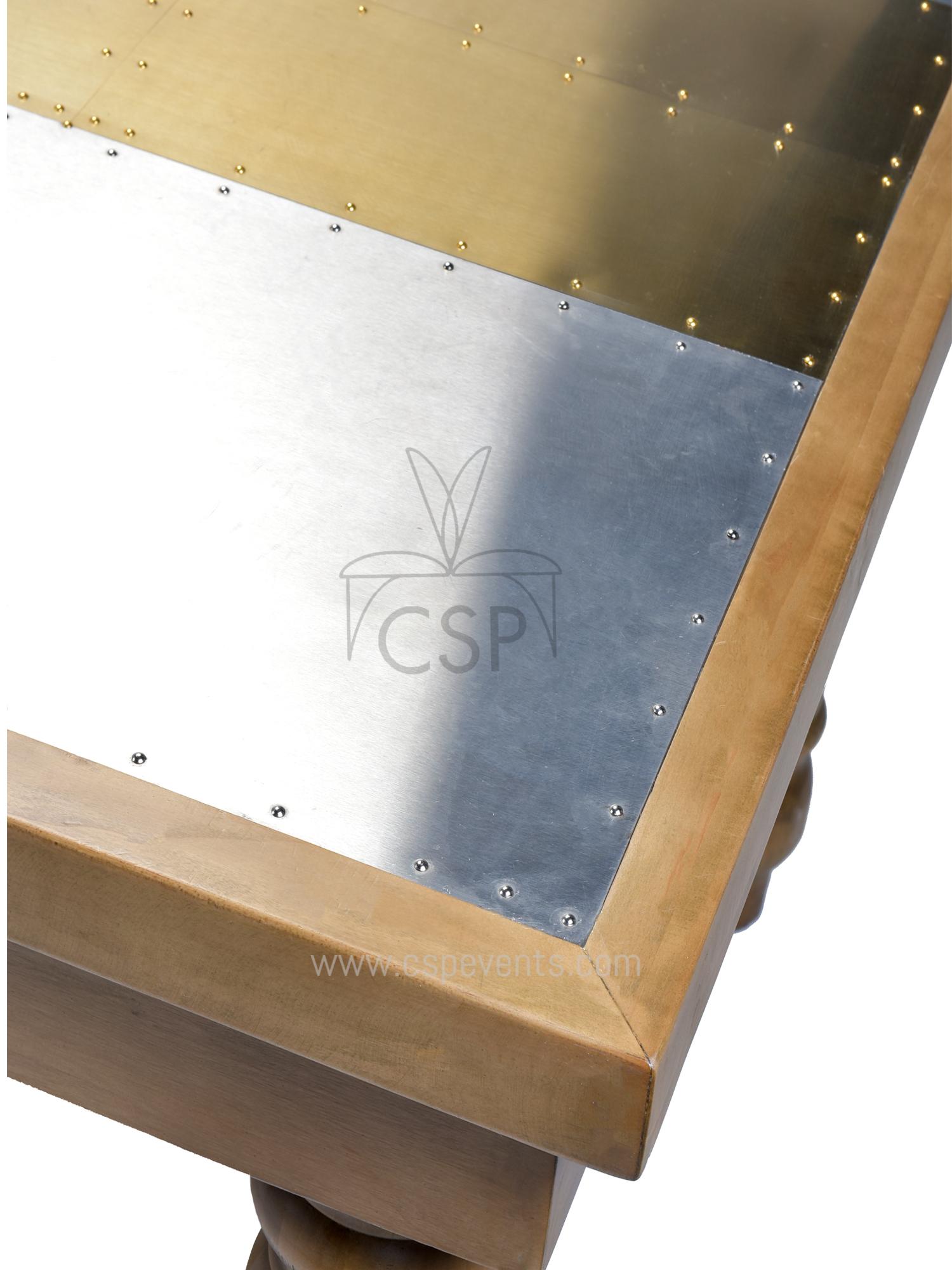 folding chair leg covers wingback and ottoman set metal top foldable farm table – csp