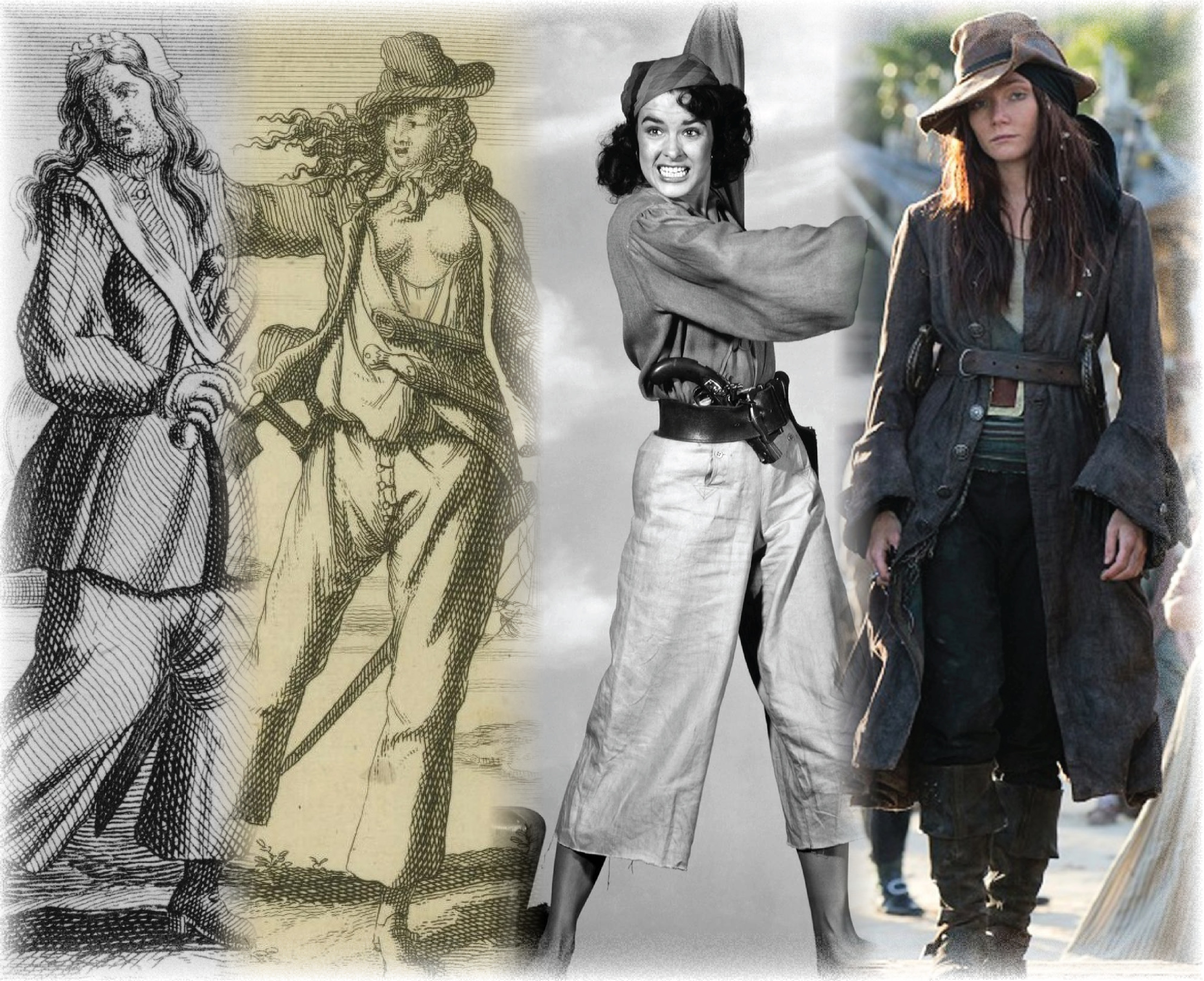 Anne Bonny And Mary Read Female Pirates And Maritime