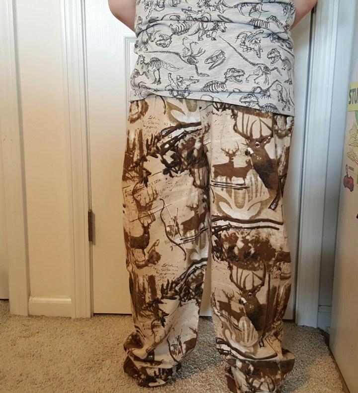 Deer flannel pajamas 11