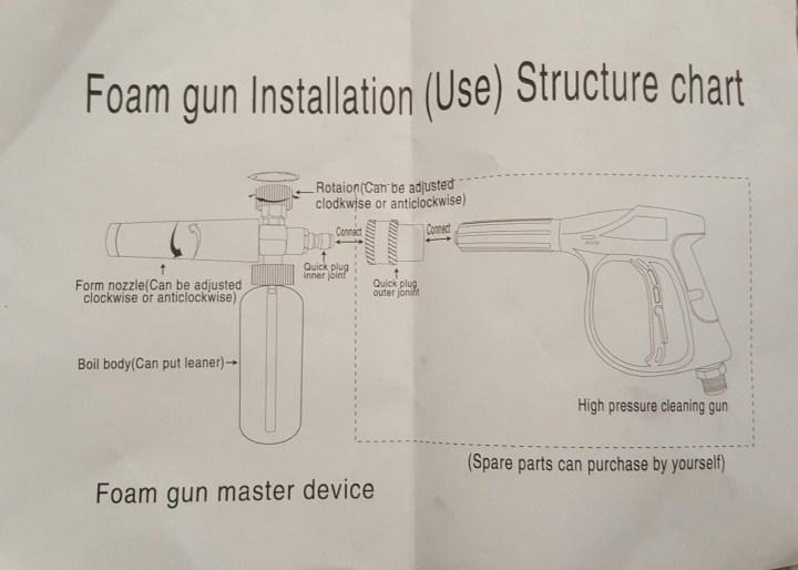 foam wash gun 8