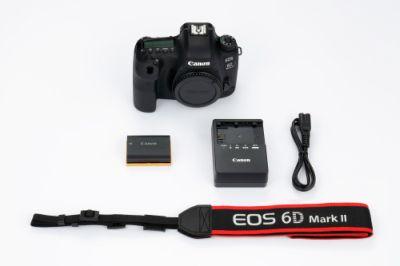 數位單眼相機 - EOS 6D Mark II (Body) - 佳能 臺灣