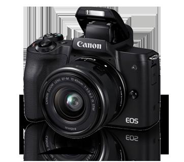 迷你單眼相機 - EOS M50 Kit (EF-M15-45 IS STM) - 佳能 臺灣