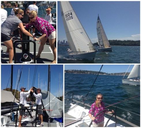 Boat Racing in Sydney Harbour!