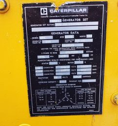 pre owned 775 kva generator d348 caterpillar set model sr4 for sale [ 2560 x 1440 Pixel ]