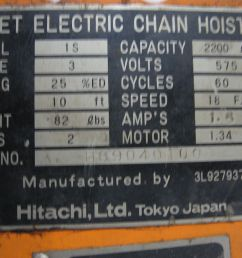 skip to the beginning of the images gallery details electric chain hoist  [ 1600 x 1200 Pixel ]