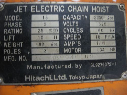 small resolution of skip to the beginning of the images gallery details electric chain hoist