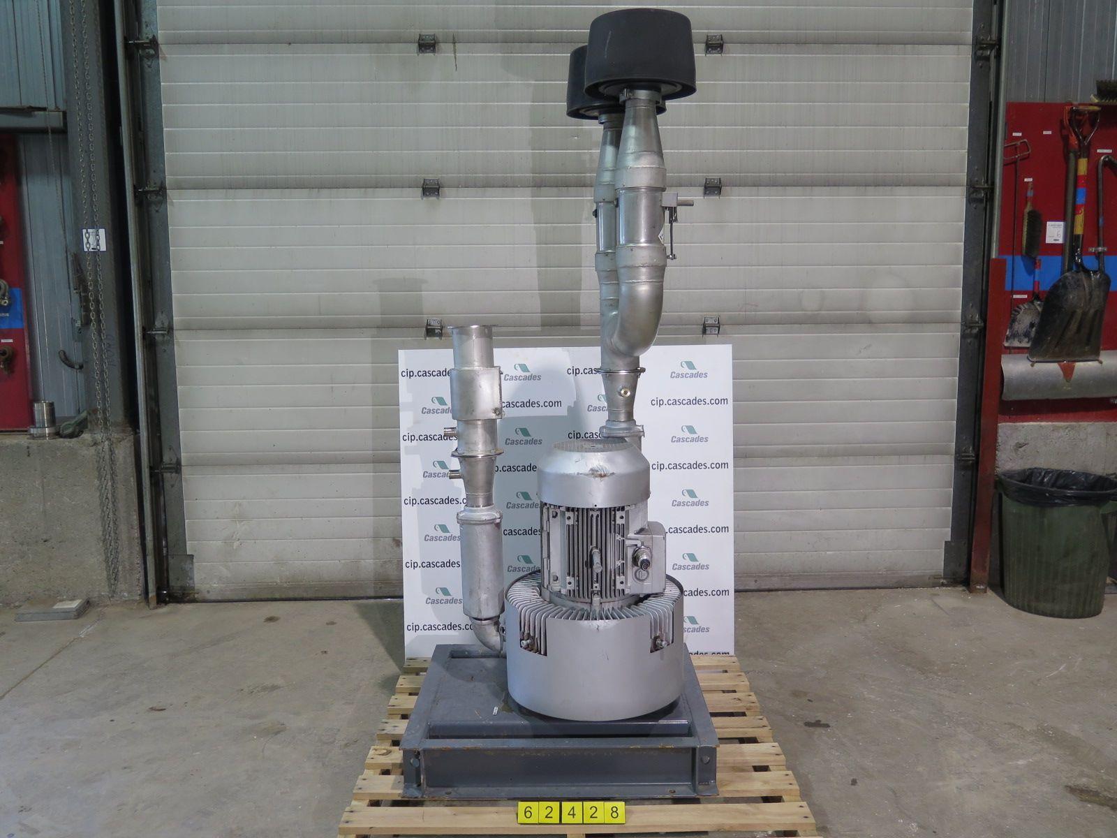 hight resolution of side chanel blower gardner denver g serie type 2bh1 810 model 2bh1810 7hc45
