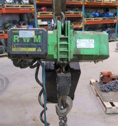 electric chain hoist 2 ton rwm w2000t1v1 yale wiring schematic rwm electric hoist wiring diagram [ 4000 x 3000 Pixel ]
