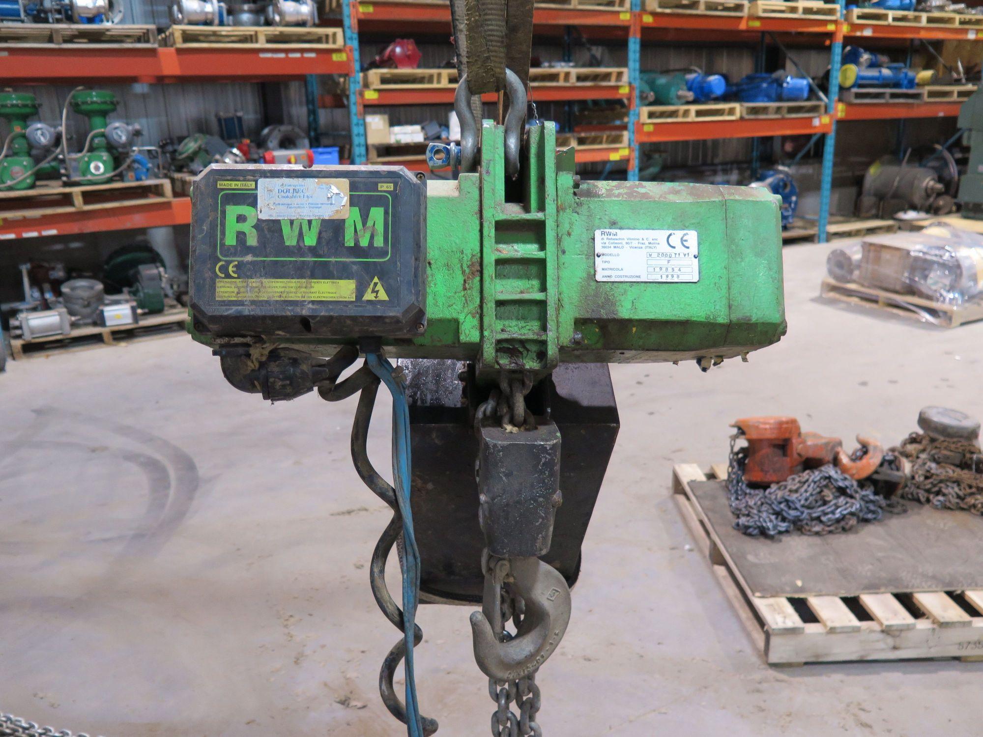 hight resolution of electric chain hoist 2 ton rwm w2000t1v1 yale wiring schematic rwm electric hoist wiring diagram