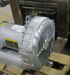 blower gast idex r7100a 3 gast mfg r7100a 3 10hp 3600 rpm store surplus for sale [ 3840 x 2880 Pixel ]