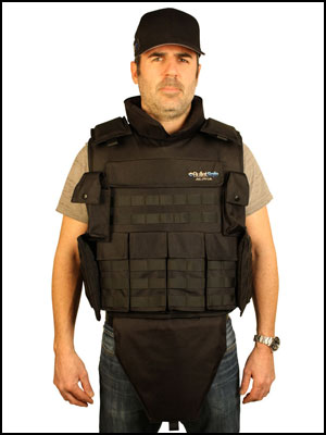 BulletSafe Alpha bulletproof Vest front view