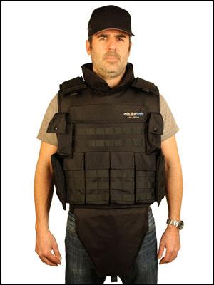 BulletSafe Alpha bulletproof Vest front view