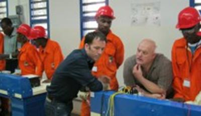 Création de la section maintenance électricité industrielle du CSP Pog
