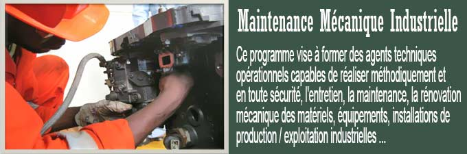 Maintenance Mécanique Industrielle