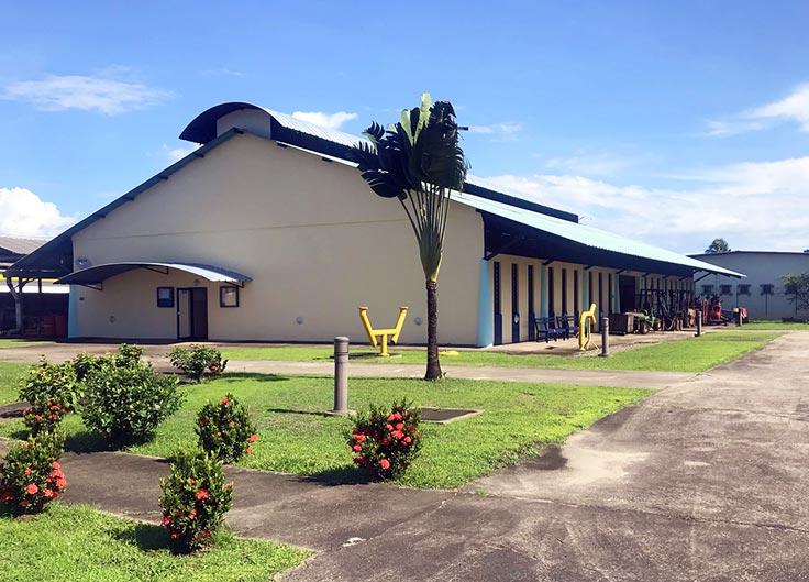 Vue bâtiment ateliers 02