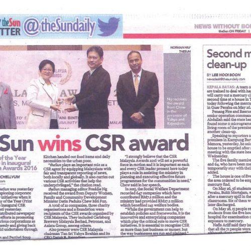 theSun-wins-CSR-award-e1528081047554