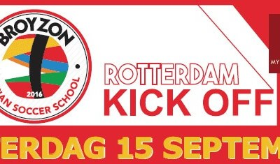 Broyzon Kick off zaterdag 15 september