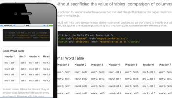 Accessible Simple Responsive Tables Css Tricks