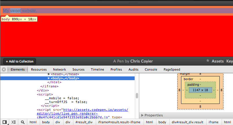 Just One Of Those Weird Things About Css Background On Body Css Tricks