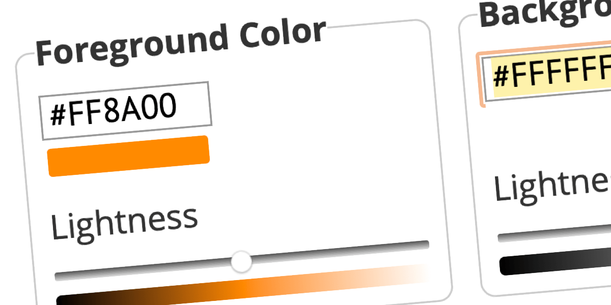 Understanding Web Accessibility Color Contrast Guidelines and Ratios   CSS-Tricks