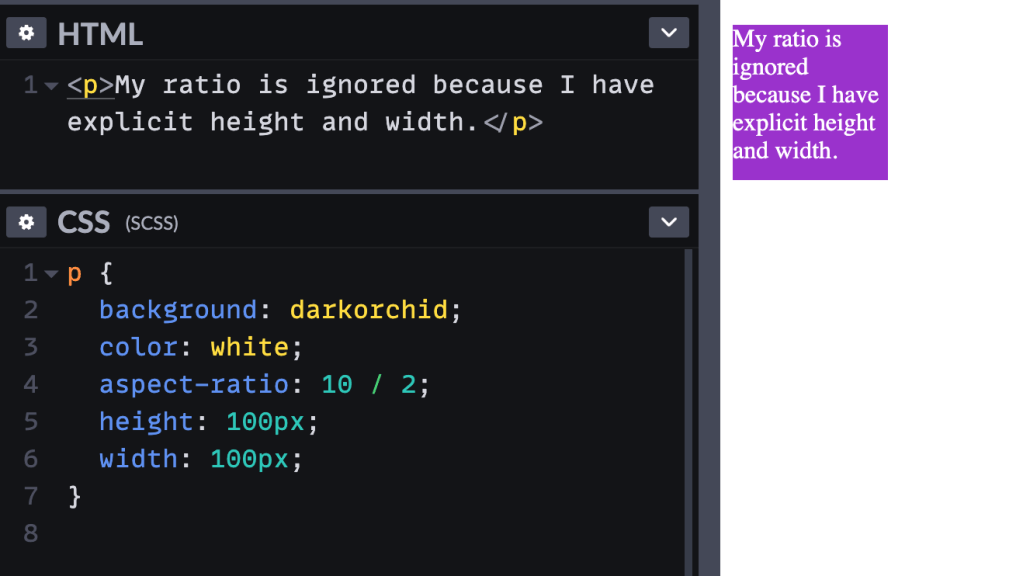 A First Look at `aspect-ratio` 4
