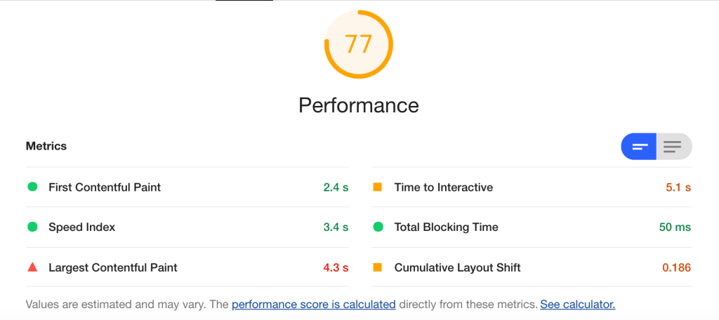 Core Web Vital Tooling