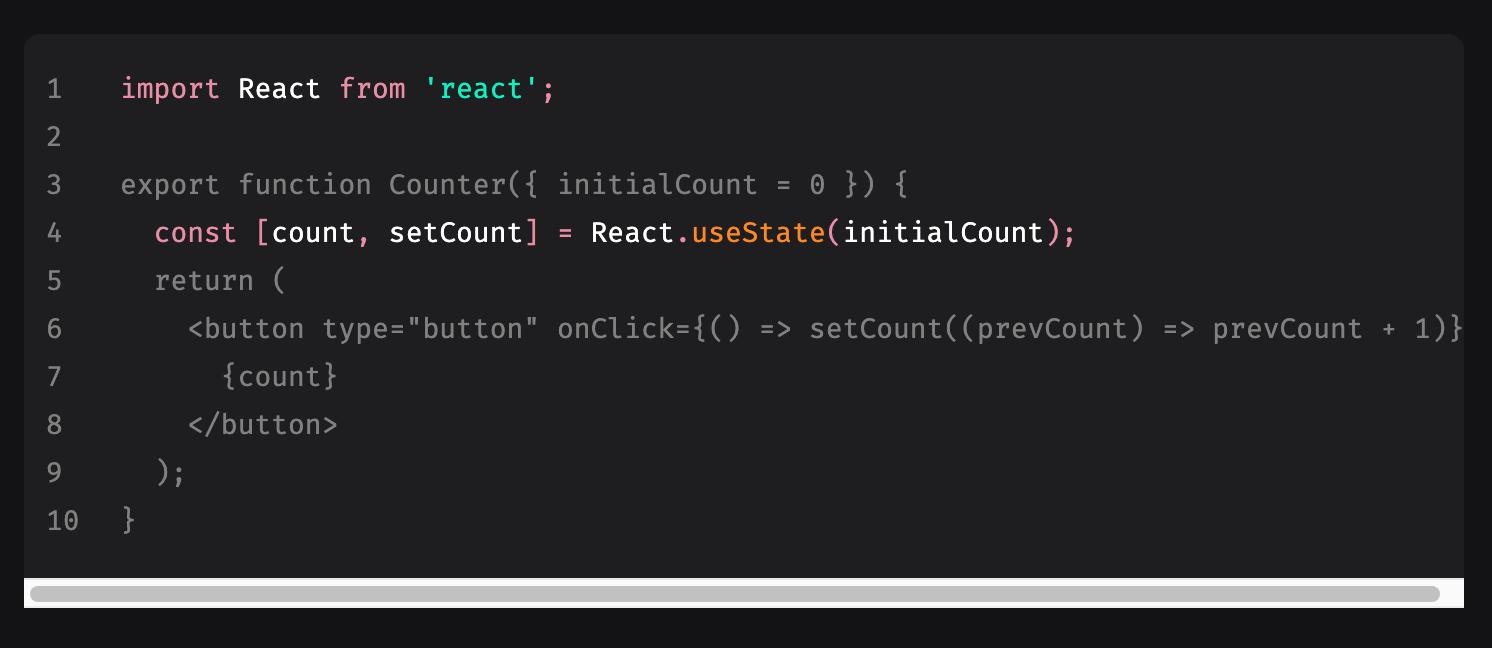 Code blocks, but better