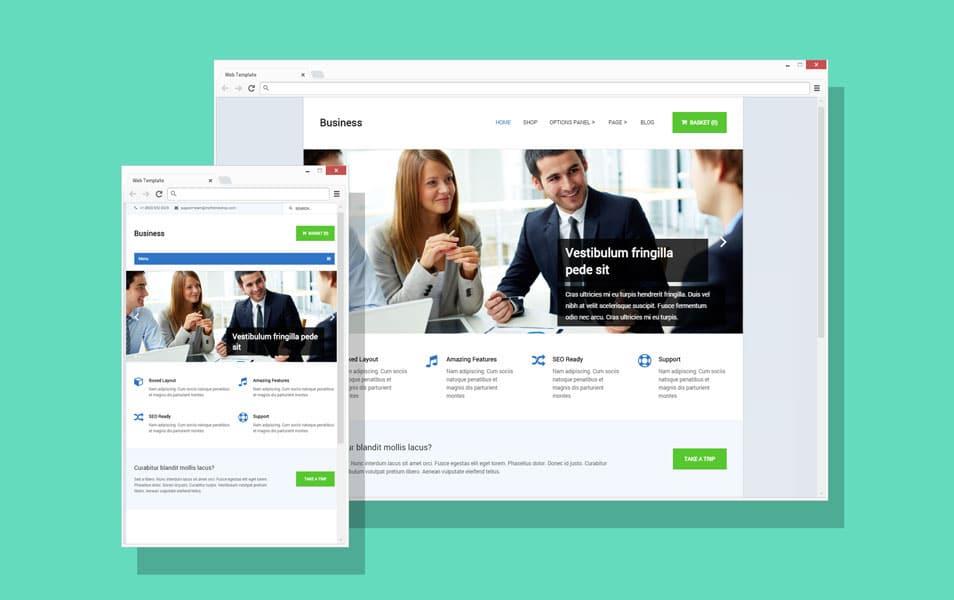free browser website design