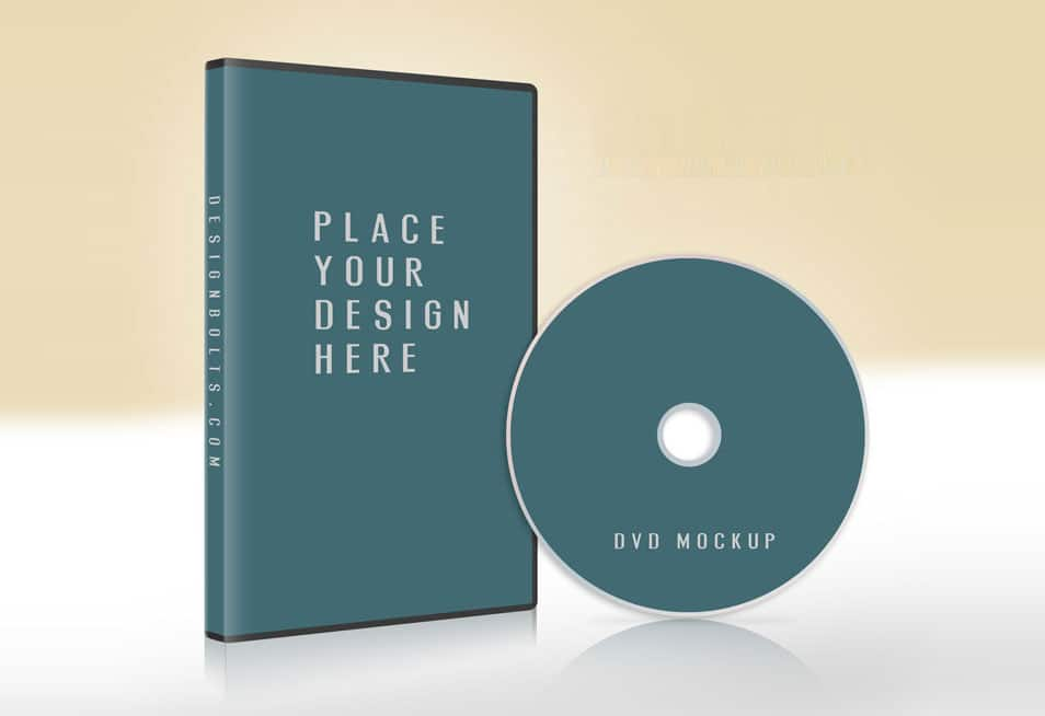 Download Free CD / DVD Case & Disc Cover Mock-up PSD » CSS Author