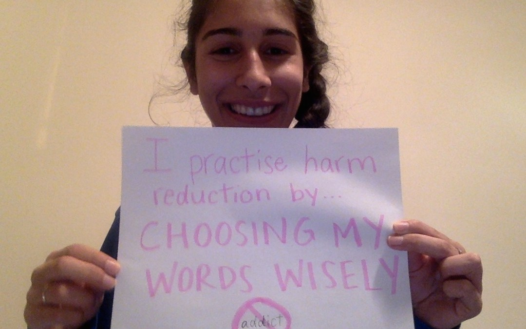 How Do You Practise Harm Reduction?
