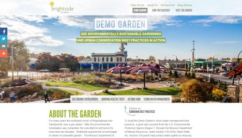 Brightside St. Louis Demo Garden