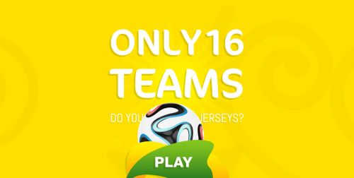 Sixteen Jerseys World Cup 2014
