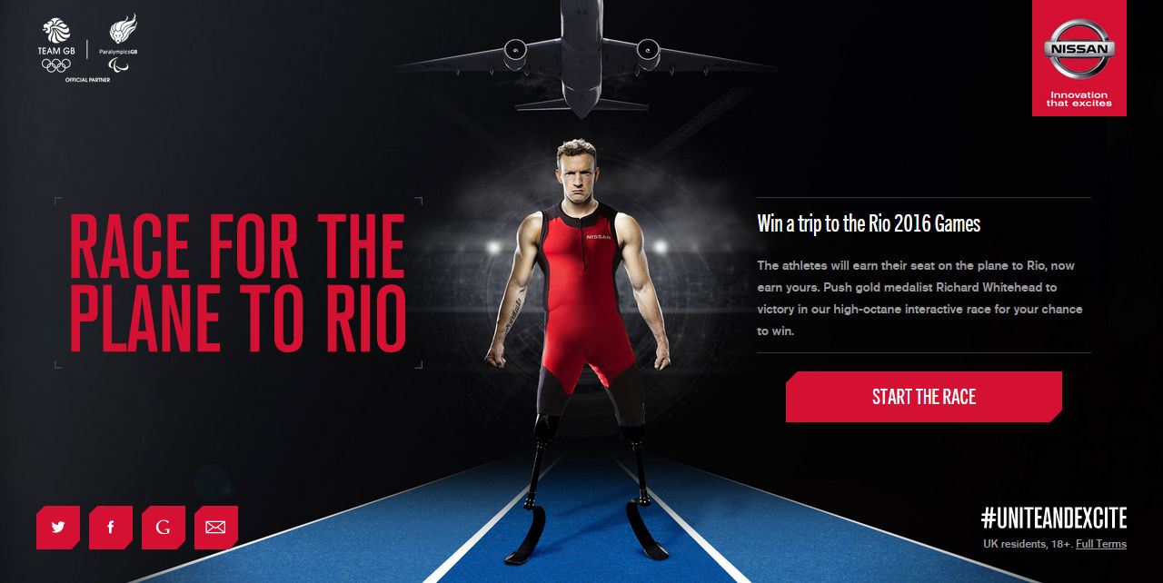 Nissan Race to Rio