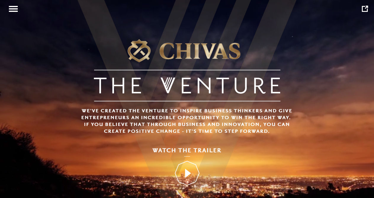 Chivas Regal > The Venture