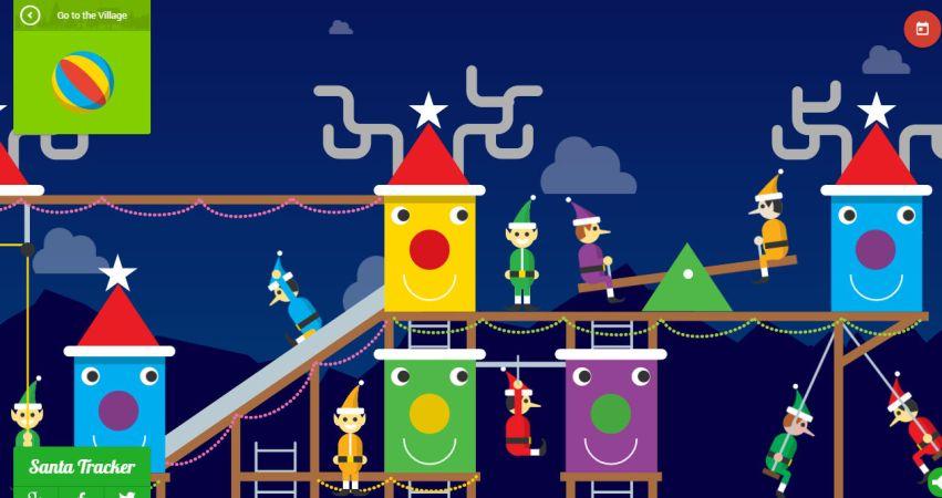 Google Santa Tracker 2014