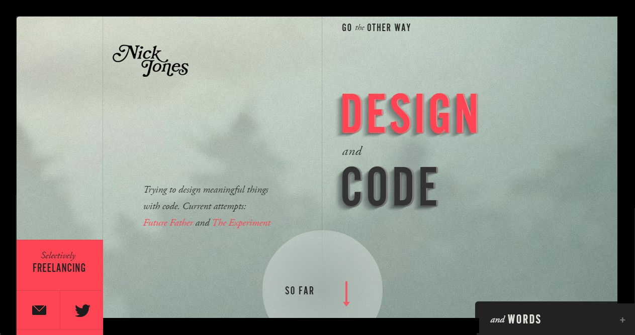Nick Jones - Design and Code