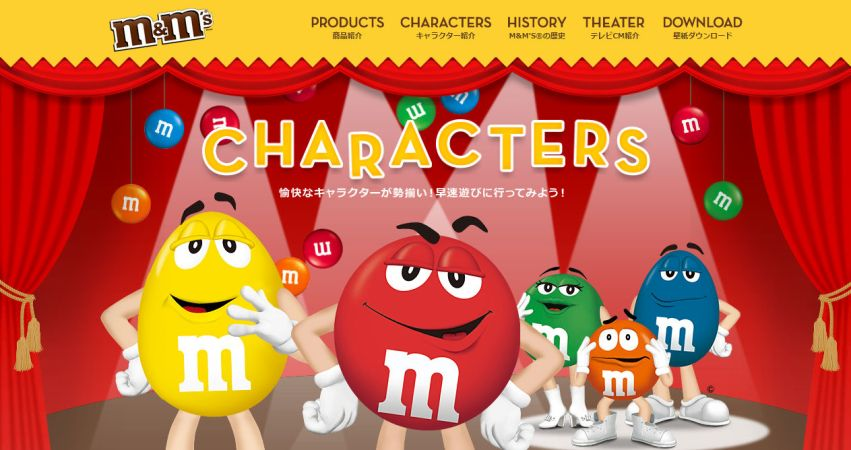 M&M'S® Japan Official Site