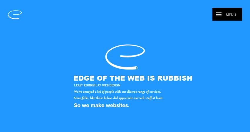 Edge of the Web