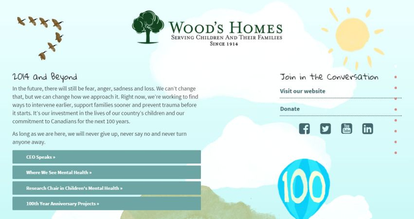 Wood's Homes 2013 2014 Annual Report