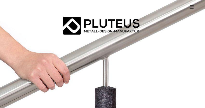 Pluteus - Manufaktur für Geländer