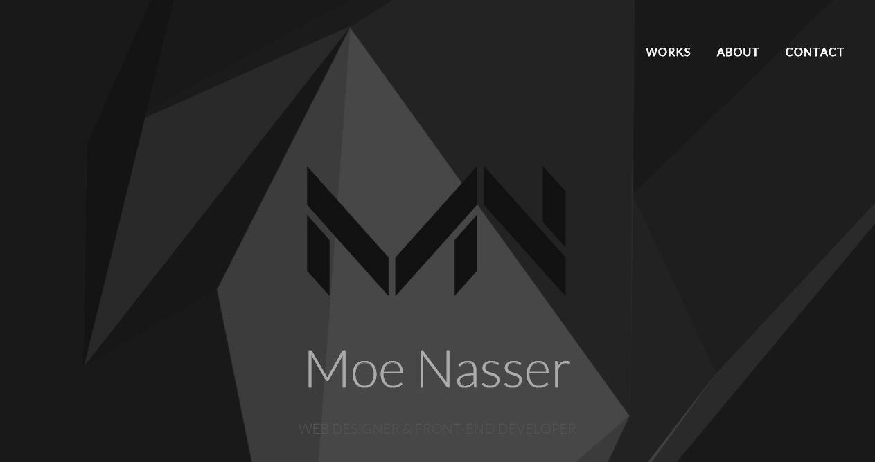 Moe Nasser Portfolio