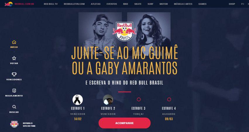 Hino Red Bull