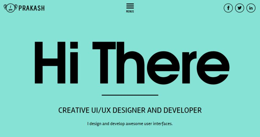 UX/UI Designer Prakash