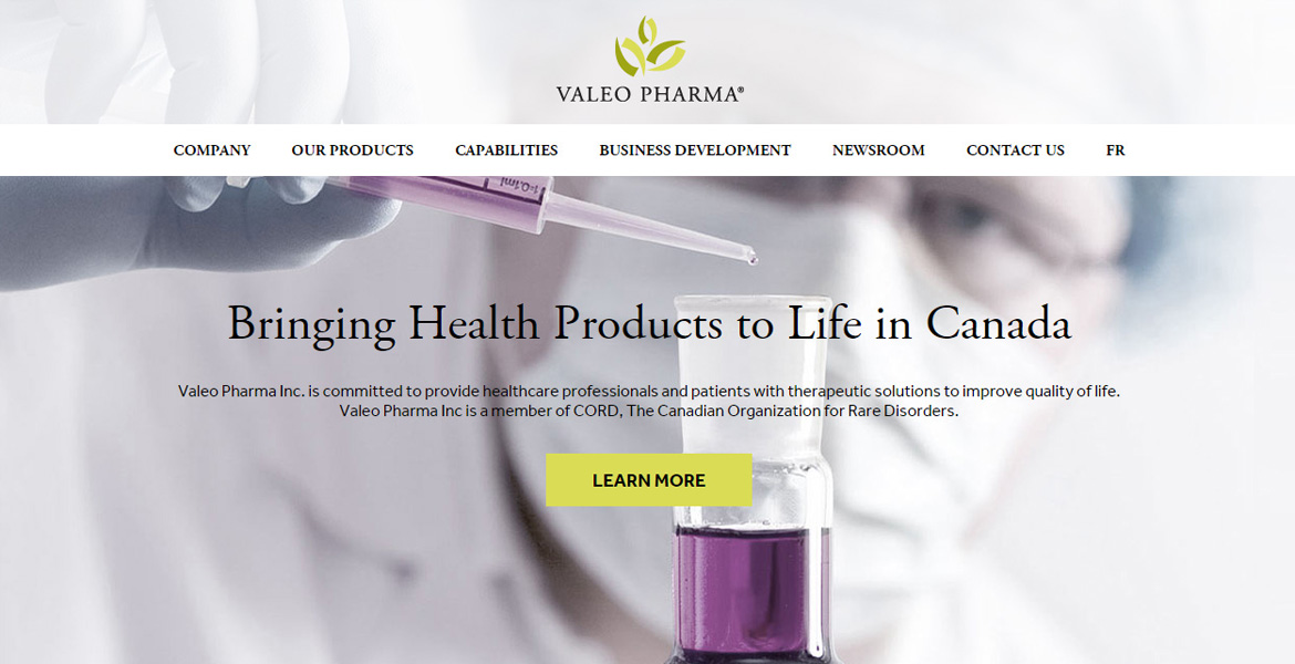 Valeo Pharma Inc.