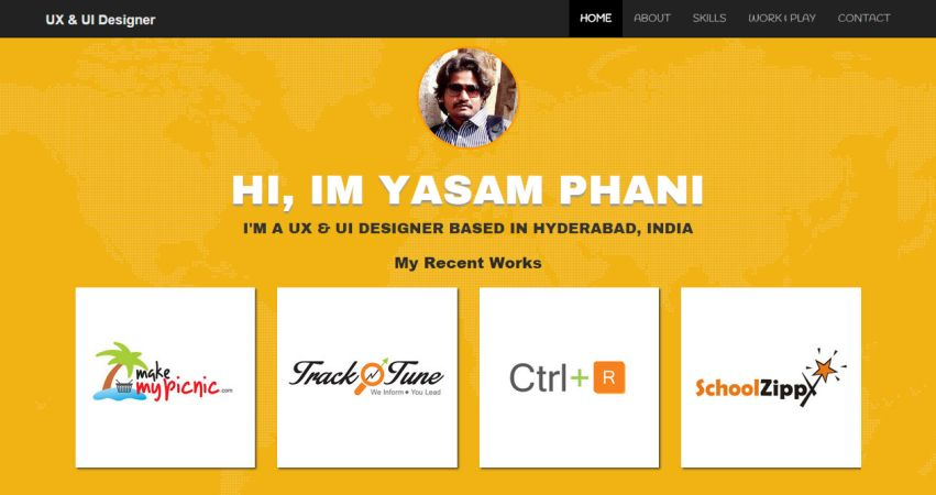Phani Yasam | UX/UI Designer