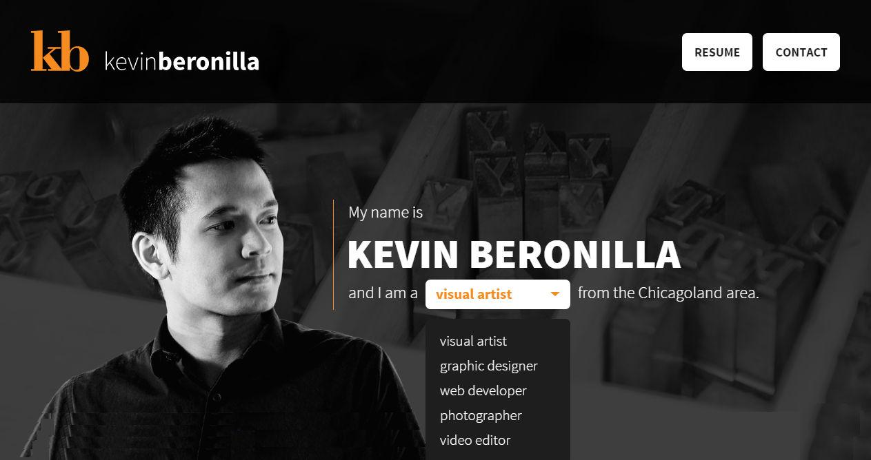 Kevin Beronilla Portfolio
