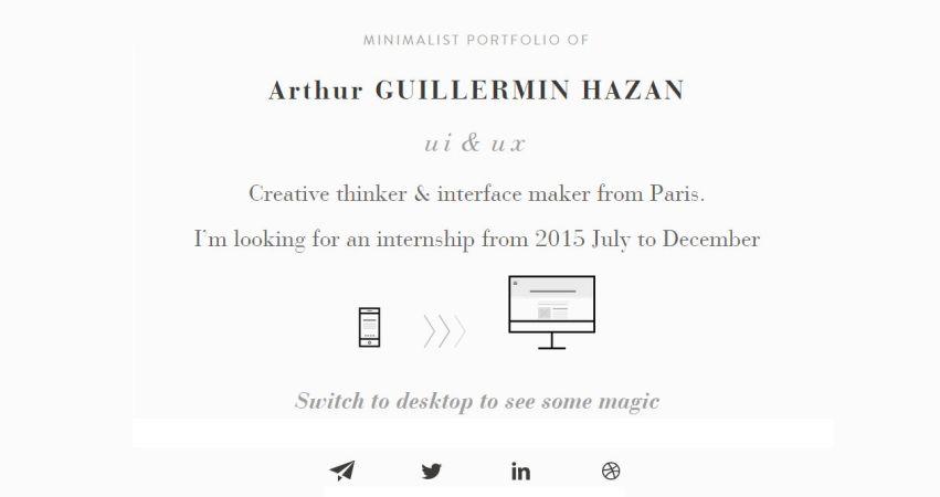 Arthur Guillermin Hazan 2015