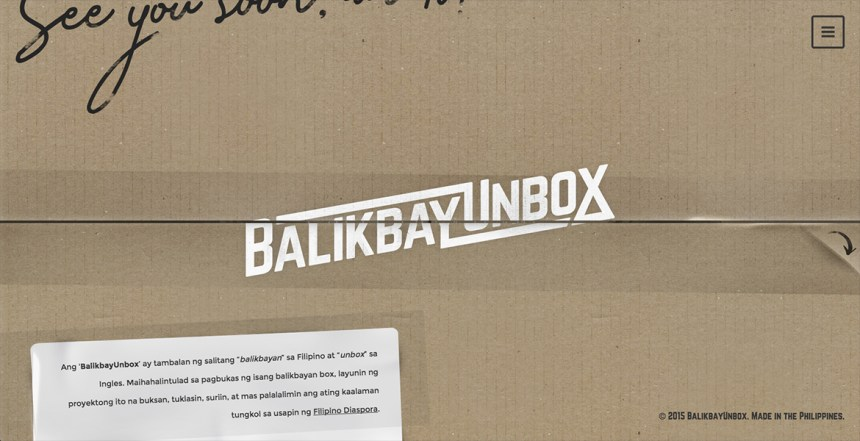 BalikbayUnbox