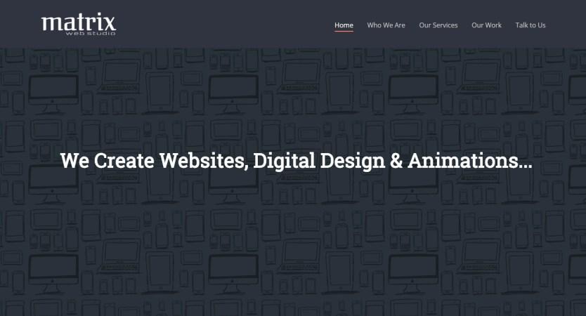Matrix Web Studio
