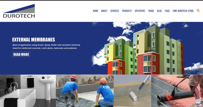 Durotech Industries | WaterProofing